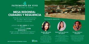 MESA REDONDA DEL INPC (11 DE JUNIO DE 2020)